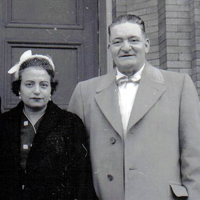 Phillip and Connie DeCarlo late 1940's